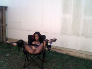 Black whore ion stockings make her squirt...