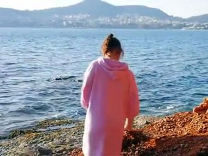 Amateur vid two men shared wife on the beach