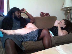Jamaican guy seduced a white bitch