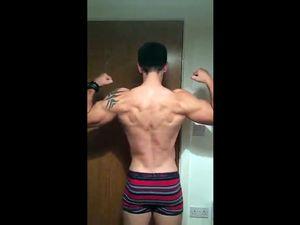 muscular guy webcam