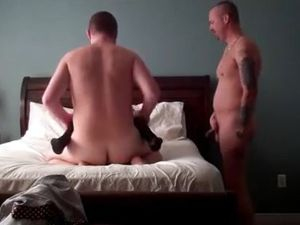 Bisexual cuckold invite friend for hot...