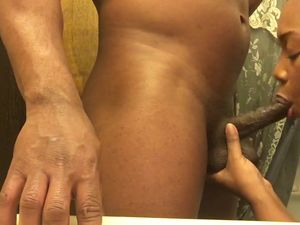Cuckold husband recording while black wife ..