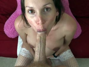 Pregnant MILF pussy fucked and gets cum...