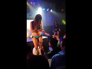 Private video from asian strip club
