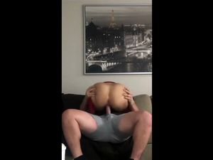 Man grabs her big ass and fill her pussy...