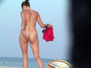 Nudists women pussies on beach spy cam