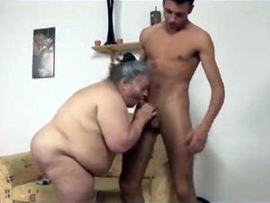 So fat grandma but sucked so hot