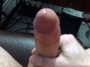 Big cock cumming on hands POV