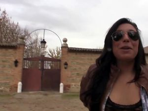 Fucking with chubby spanish village chick...
