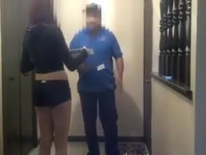Prison blowjob from spy camera