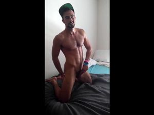 Athletic guy with great cock