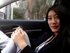 Chinese whore ShenDi bondaged in hot shots