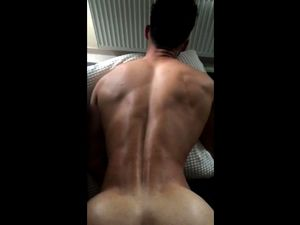 Muscled dude gay anal nailed from behind POV