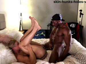 Hunks interracial anal and rimjob