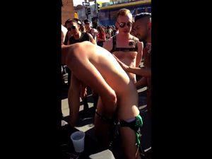 Shameless publiv gay anal fucking
