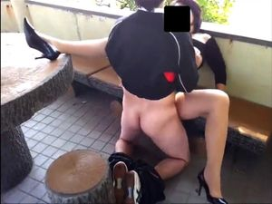 Polish couple fucks in the balcony