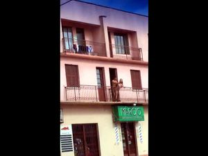 Voyeur clip with couple fucking on balcony...