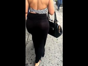 Spy cam booty video