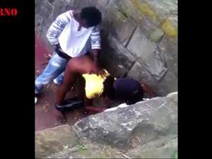 Ebony sluts fucked in public compilation