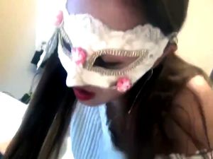 Sexy masked asian lady get different style...