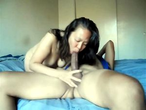 50 yo asian sucks and fucks at home
