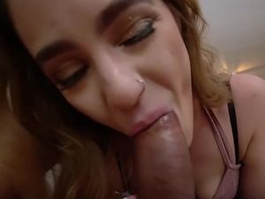 Horny stepsis suck and fuck me POV