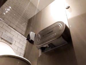spy hidden caught wanker in public toilet