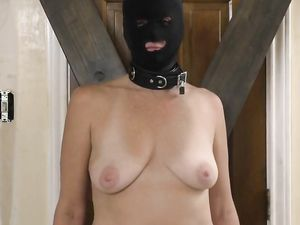 My Master tortured my nipples and pussy...
