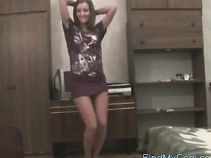 Very hot dance and striptease video