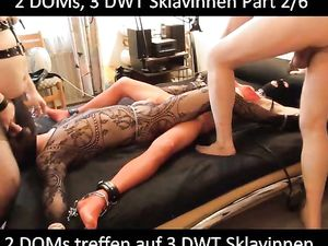 2 Master, 3 Crossdresser Slaves Part 2 -v2