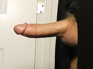 Throbbing cock shoots a huge load (HM)