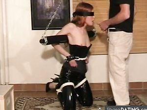 VERY sexy slave  Homemade Video