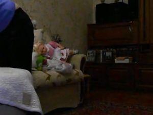 Russian hidden cam at home