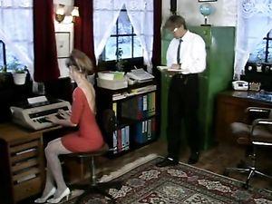 Debbie, heißes Büro ficken