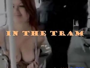 Public Slut - In The Tram
