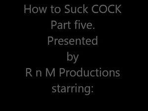Cock Sucking Lesson part 5