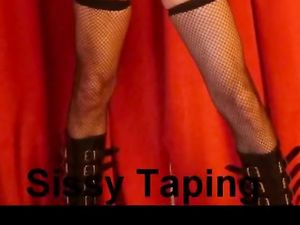 Sissy Feminization, Taping and Tucking...