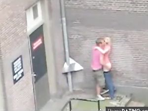 People having sex on the street (The...