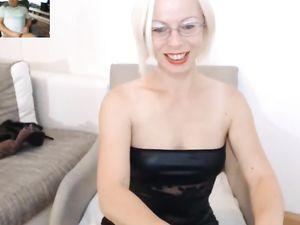 hot mature wife masturbate