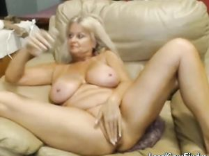 Webcam - Busty 47 year old slut with big...
