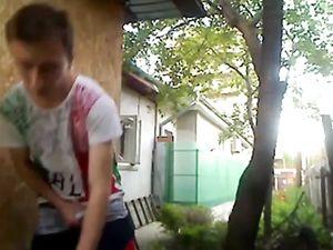Outdoor Dancing Boy