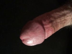 HD Close up jacking my cock with squirting...