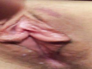 Cum on girl pussy 2