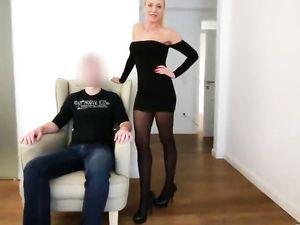 Deutsch Daynia Strumpfhosen schwarzes Kleid