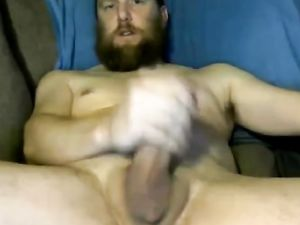 Hot Str8 Bearded Daddy with Hot Shaft...