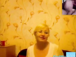 Mature lady webcam