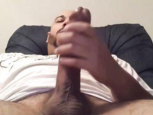 Big Dick Str8 Latino Jerks Off His Cock &...