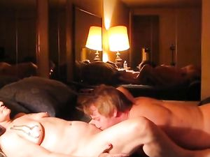69 ,fucking my man on top ! he finishes on...