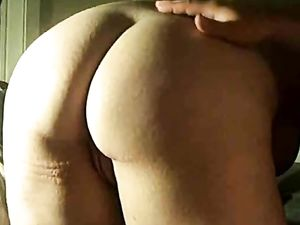 Spanked and dildoed