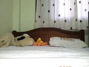 Thai mom masturbation in room
